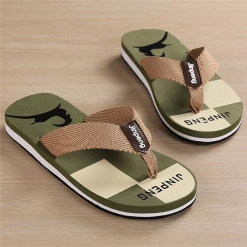 Men Summer Travel Loafer EVA Slippers Sandals Flip Flops Shoes Beach Outdoor CA