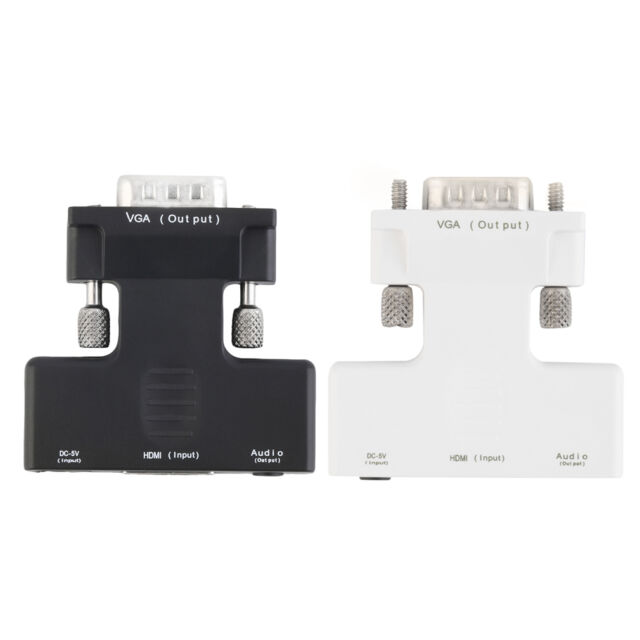 NEW HDMI Male to VGA Female Video Cable Cord Converter Adapter 1080P HY