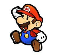 Super Mario World Paper Mario Iron On T Shirt Pillowcase Fabric Transfer 1