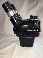 Bausch Amp Lomb Microscope Zoom Range 07x 3x