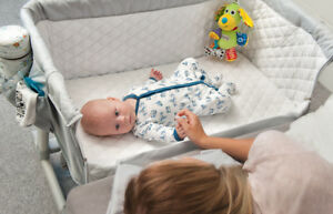 Baby-Crib-Bedside-Lionelo-Cot-Crib-Baby-Sleeping-Sleep-Crib-High-Quality