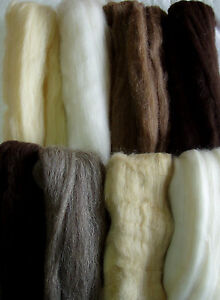 250g-wool-tops-roving-mix-felting-wool-for-spinning-doll-hair-brown-white-grey