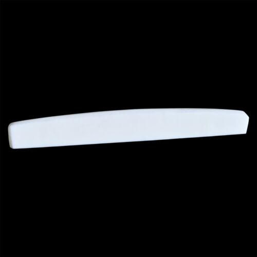 Premium Replacement Bone Saddle 74mm x 10mm x 2.5mm for Acoustic Guitars
