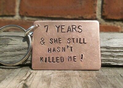 7th Wedding Anniversary Copper Gifts