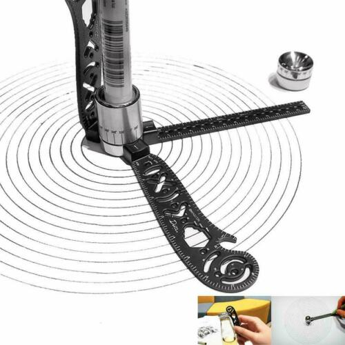 The Most Versatile and Portable Design Tool mini compass and protractor combo ZE