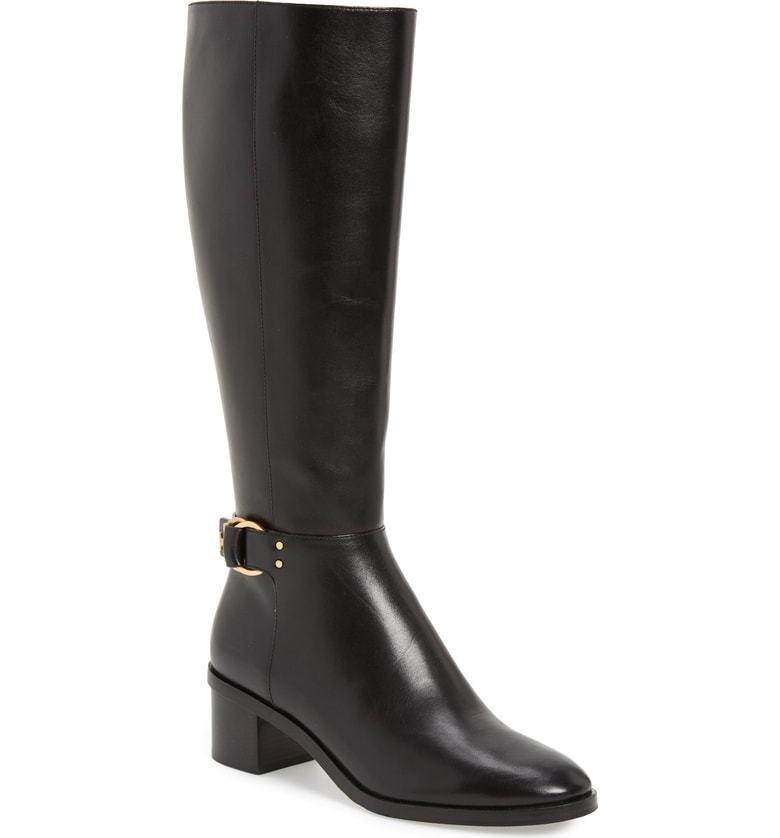 Nuevo En Caja Tory Burch Marsden botas botas botas de arranque 50MM Perfecto Becerro Negro 8.5 M De Ancho  vendiendo bien en todo el mundo