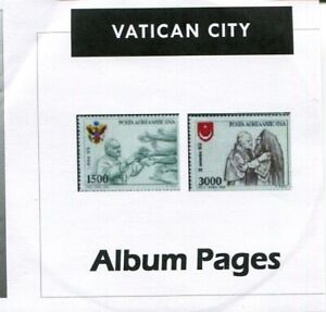 Vatican-City-CD-Rom-Stamp-Album-1929-2017-Color-Illustrated-Album-Pages