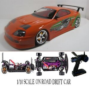 Scale F F Toyota Supra Rtr Custom Rc Drift Cars Ebay