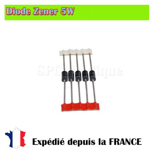 Diode Zener 1N5349B 12V 5W Boitier DO201