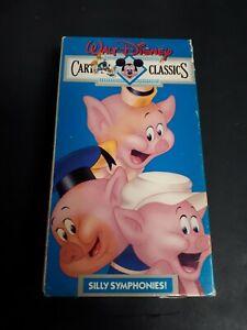 Walt-Disney-Cartoons-Classics-Volume-4-VHS-Red-Label-Silly-Symphonies
