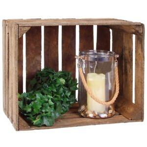 Deko-Holzkiste-50x41x31cm-Fruit-Box-Side-Table-Vintage-Shabby-Shoe-Shelf
