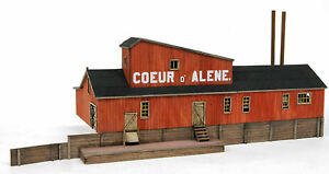 BANTA-2033-COEUR-d-039-ALENE-MINE-HO-HOn3-Model-Railroad-Structure-Kit-FREE-SHIP
