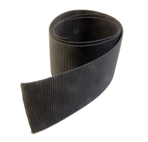"3/"" Inch Black Polypropylene Sold By-The-Yard 36/"" Uncut Lengths Webbing"