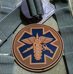 EMS-MEDIC-CROSS-STAR-EMT-TACTICAL-ARMY-MORALE-AIRSOFT-3D-PVC-RUBBER-PATCH