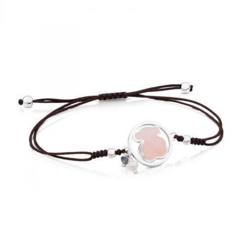 Acier Inoxydable Naturel Agate Lapis Perles Amazonite tissage Bear Bracelets