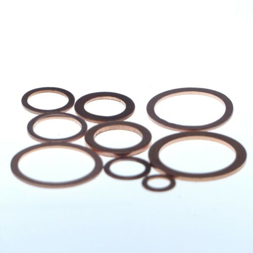 Unterlegscheibe aus Kupfer 10x16x1 mm 50 Stück