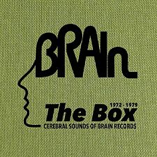 THE BRAIN BOX: CEREBRAL SOUNDS OF BRAIN RECORDS 1972-1979 (LTD)  8 CD NEU