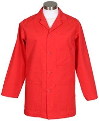 Nurse Fame Navy Blue K73 Male Counter Coat L//S Smock Pharma,Vet Medical,Dental