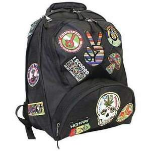 2788e7f68b Be a Rebel 17in Hippie Backpack With 15 Patches Basic Multipurpose ...