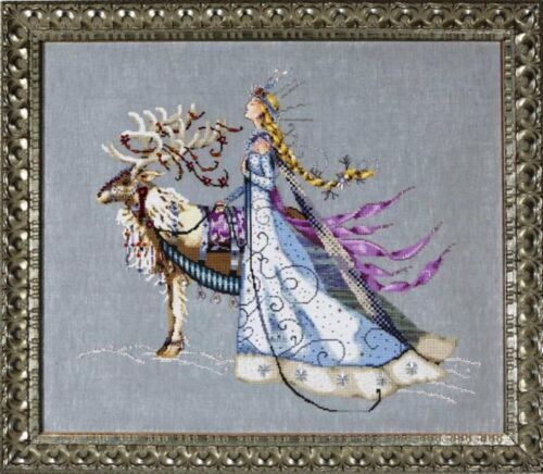 "COMPLETE X STITCH KIT /""THE SNOW QUEEN/""  MD 143 by Mirabilia SALE"