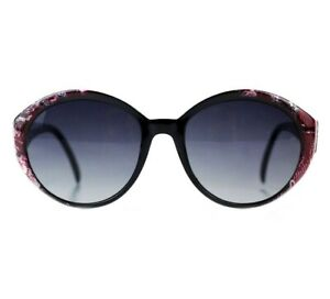 NOS 90s Snake print vintage oversized sunglasses women sunnies shades DS OG