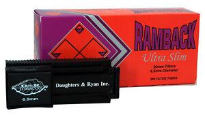 D&R Ultra Slim Injector Cigarette Machine and 1 Box of Ramback Ultra Slim Tubes