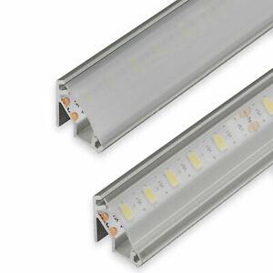 Top SO-TECH® LED Profil-99 Alu 2 m Eckprofil Profilleiste Beleuchtung JT72