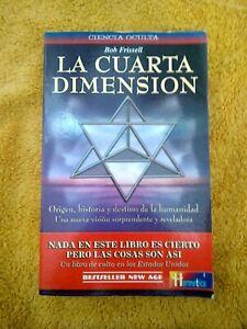 Detalles de La cuarta dimensión de Bob Frissell - Español Tapa blanda  Bestseller