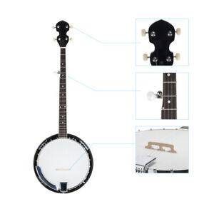 New-Top-Grade-Exquisite-Professional-Wood-Metal-5-string-Banjo