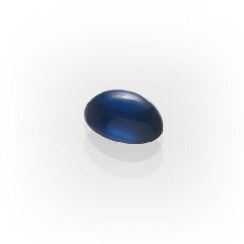 Un safir cabochon aprox 5 x 4mm oval//verdadero zafiro //// P-Box