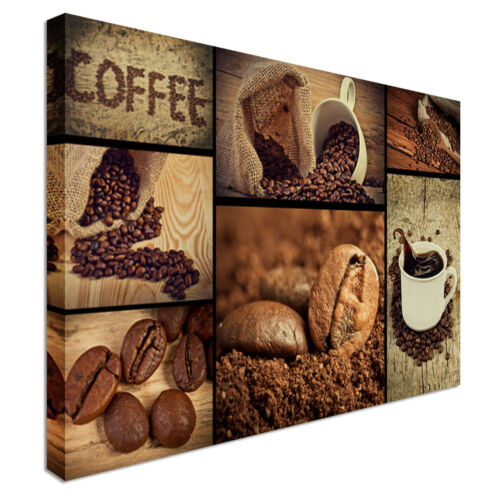 Coffee Shop Food Kitchen Canvas Wall Art Print Large Any Size