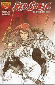 Red Sonja #19 Comics Scene Bill McKay Exclusive Dynamite Entertainment Variant