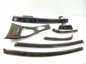 BMW-3er-E91-E90-Zierleisten-Interieurleisten-Dekorleisten-Nussbaum-Edelholz-Orig