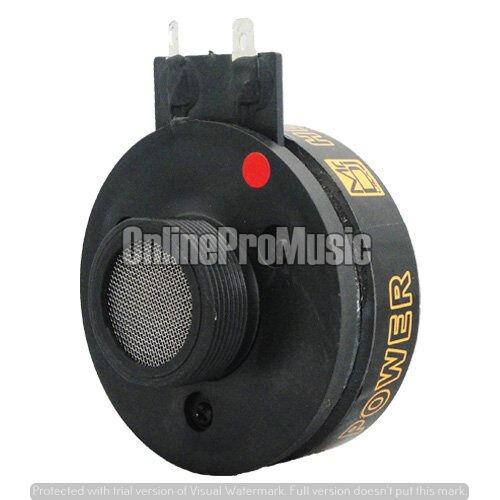 Mr Dj HD300 Titanium DJ Compression Screw-on Horn PA Speaker Driver Tweeter