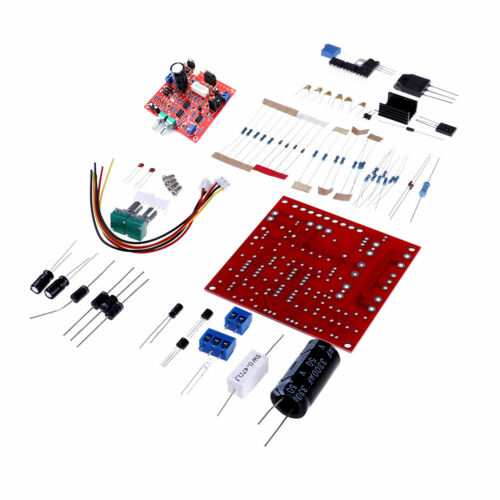 Red 030V 2mA3A Adjustable DC Regulated Power Supply Board DIY Kit PCB B HV