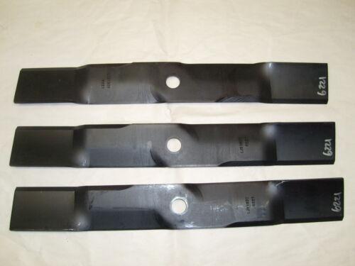 "54/"" CUT LAWNMOWER BLADE SET JOHN DEERE  F-725  M113518  MOWER 6221 set of 3"