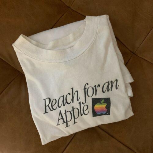 "Vintage 1980s Apple Macintosh Long Sleeve Shirt ""R"