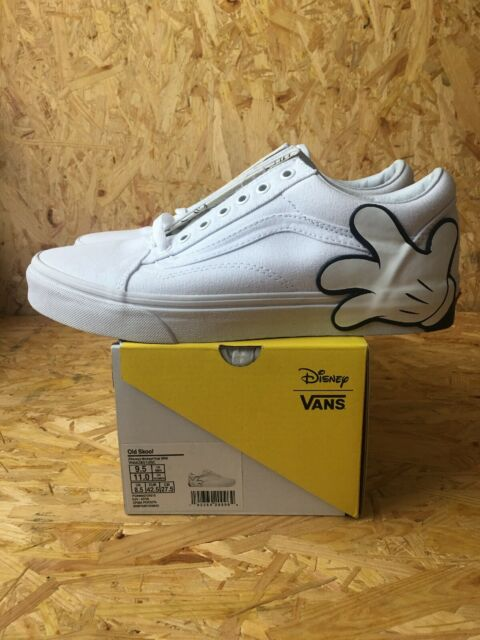 Brand New Vans Old Skool SZ 9.5M11W Disney Mickey Mouse Hand VN0A38G1UNC 90th