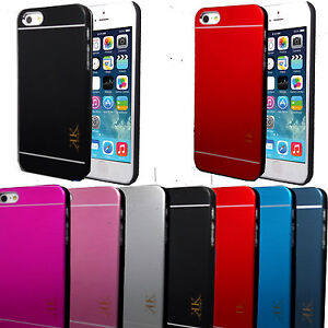 New-Generic-Brush-Aluminium-Metal-Case-Cover-For-Apple-iPhone-5G-5S-amp-4G-4S