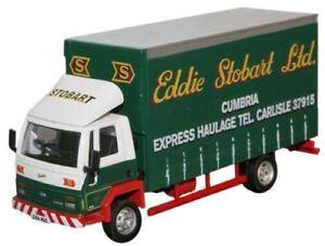 Oxford-Diecast-Eddie-Stobart-FORD-CARGO-Lona-Camion-1-76-stob016