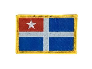 Patch ecusson imprime badge drapeau grece grecques