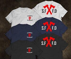 New San Francisco Firefighter Fire Department Dept Rare Firearm Logo