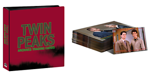 2019-Twin-Peaks-Archives-Trading-Cards-COMPLETE-BASE-SET-amp-BINDER-Rittenhouse