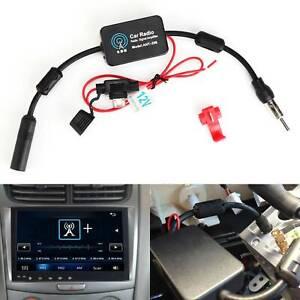 AM-FM-Car-Radio-Signal-Booster-Amplifier-Antenna-Active-Adaptor-Splitter-Amp-UK