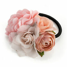 Wedding Bridal Rose Flower Hair Band Elastic Flower Girl Bridesmaid Festivals