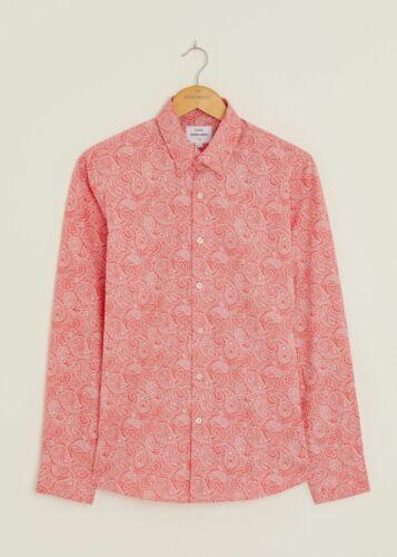 Peter Werth Homme dorvill shirt à manches longues-rose clair