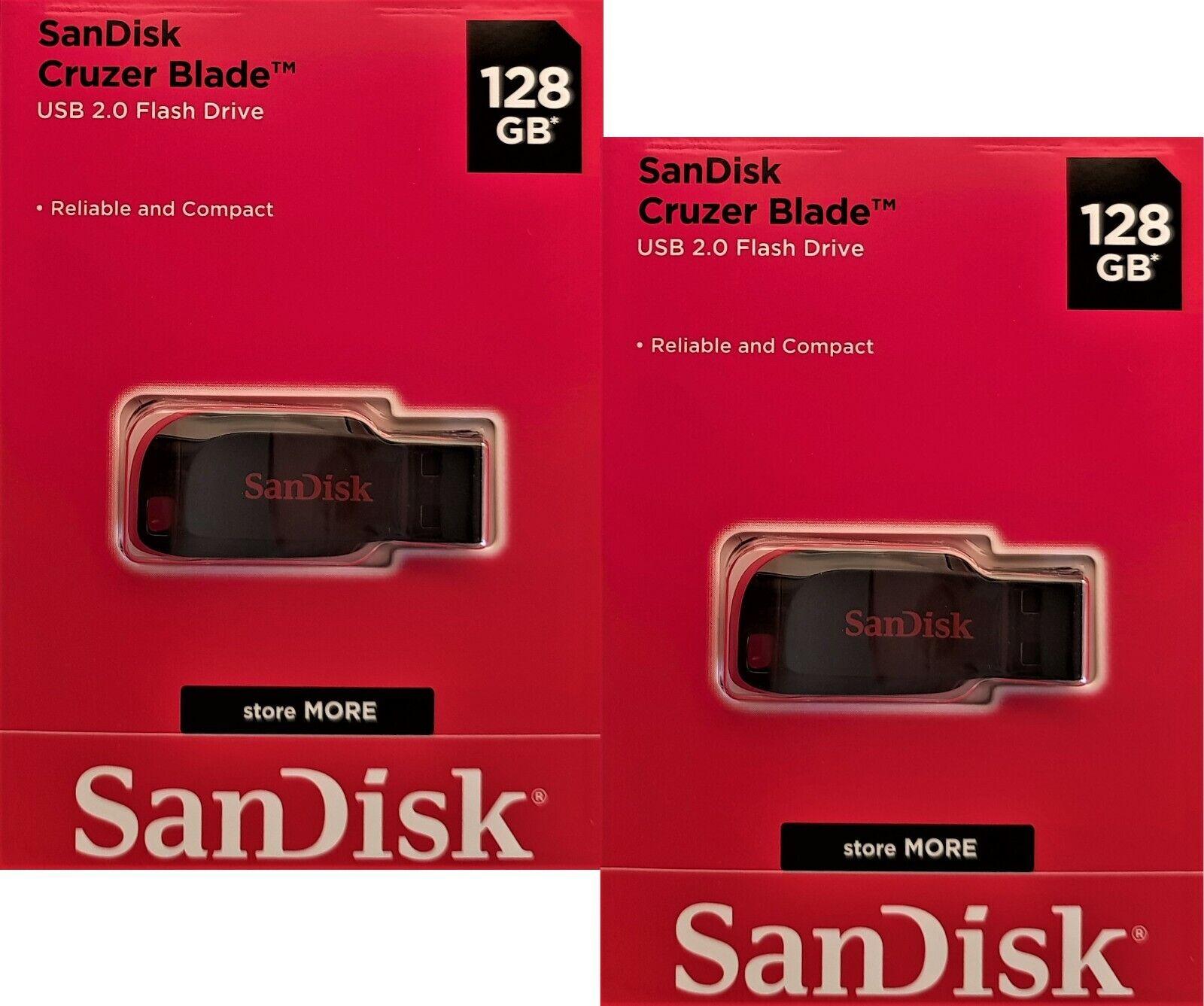2x 128GB USB Stick