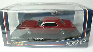 MERCURY-COUGAR-CARDINAL-RED-1967-VITESSE-36300-1-43-PLASTIFCATED