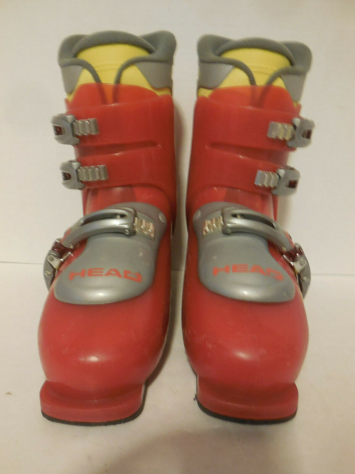 Head Carve X3 Red Ski Boots 260 - 265 Womens 9 US Mens 8 US