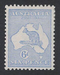 1915-Australia-6d-Roo-SG-38-Die-2-third-WMK-MLH